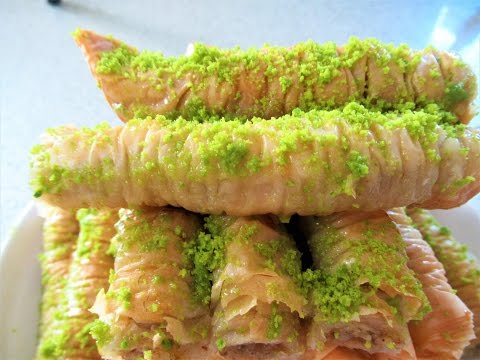 Baklava Recipe Easy Dessert Recipe Phyllo Dough Pastry Afghani RecipeS Baghlava  طرز تهیه بغلاوه