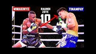 Pointi zilizompatia ushindi Hassan Mwakinyo VS Mfilipino Tinampay
