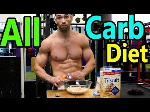 THE ALL CARB DIET (Burn Fat w/ Carbs) | Lose Weight on a High Carb Diet - Best Carbs for weight loss
