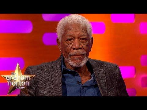 Morgan Freeman Re-Enacts The Shawshank Redemption   The Graham Norton Show