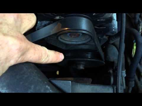 How To Change The Fan Belt On A GM Truck