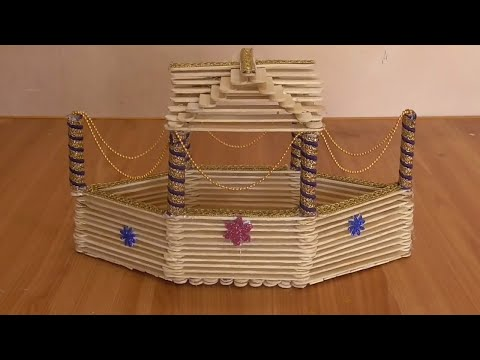 diy - how to make popsicle stick boat || how to make icecream stick boat | popsicle ship for project