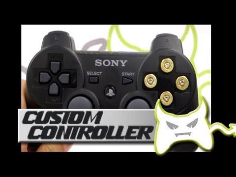 Custom PS3 Controller - PS3 Bullet Buttons Part 2