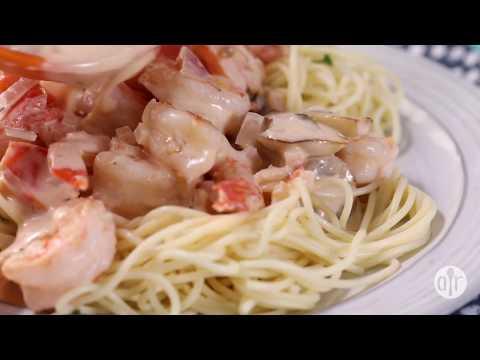 How to Make Champagne Shrimp and Pasta | Dinner Recipes | Allrecipes.com