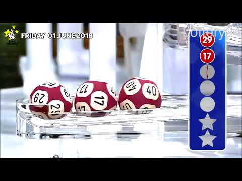 2018 06 01 Euro Millions Number and draw results