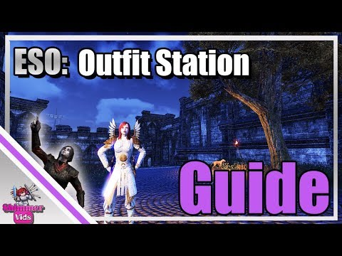 ESO: Outfit System - Armor Style - Dye Station Guide!