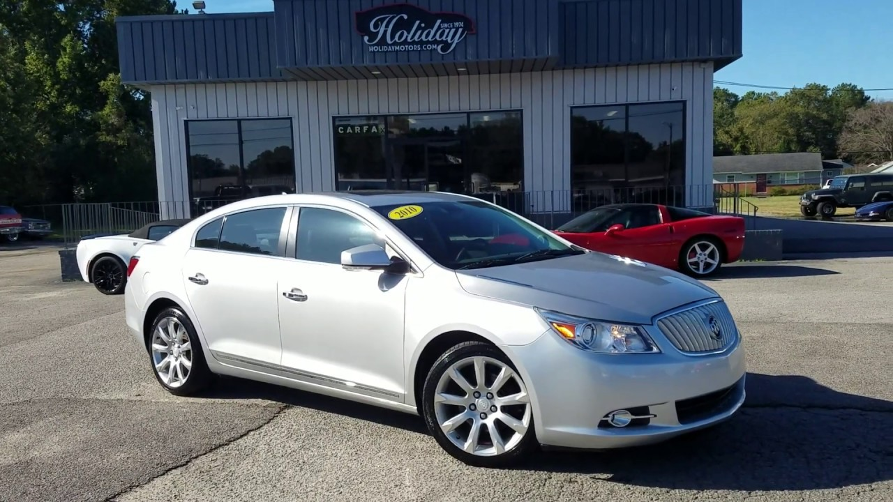 2010 Buick Lacrosse CXS For Sale At Holiday Motors