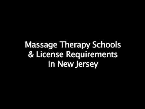 How to become a Licensed Massage Therapist (LMT) in New Jersey