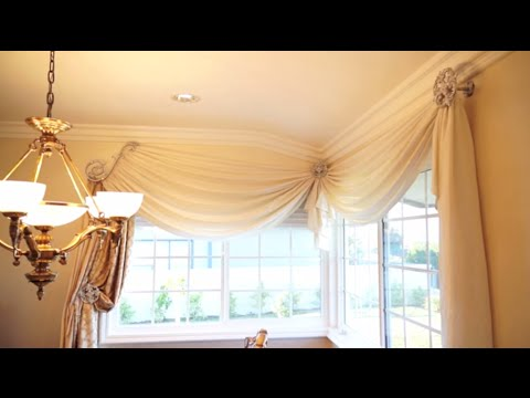 How to Make Any Room More Elegant with Window Treatments: 3 Simple Steps | Galaxy-Design Video #105