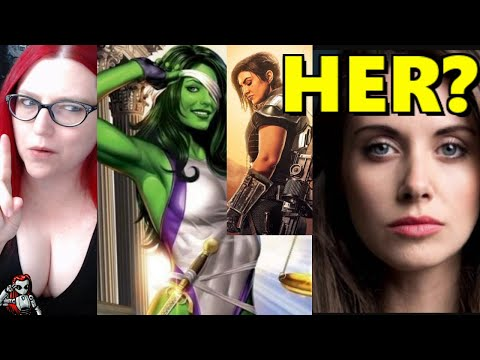 Pronoun Crowd DEMAND Gina Carano As Alison Brie Might Be Cast In She-Hulk?
