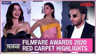 Filmfare Awards 2020 Red Carpet Highlights | Ranveer Singh, Alia Bhatt | Interviews | UNCUT