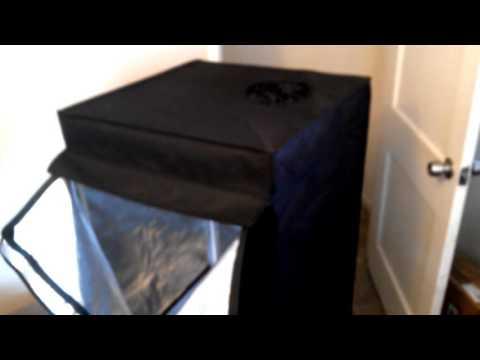 unboxing!!!!! 24x24x48 100% Reflective Mylar grow tent