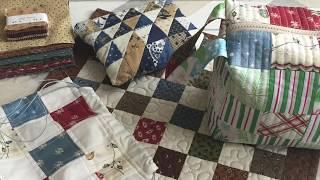 Текстильные вещи из остатков ткани.
