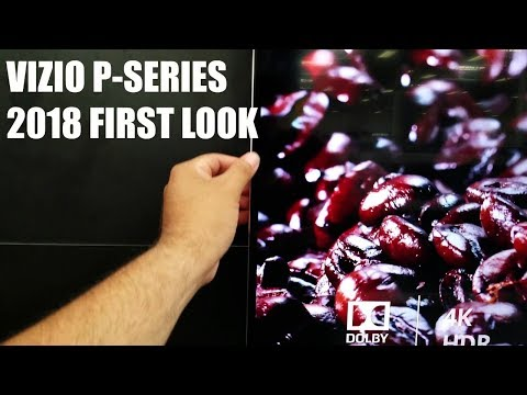 First look at Vizio P-Series 2018 Bestbuy Store trip
