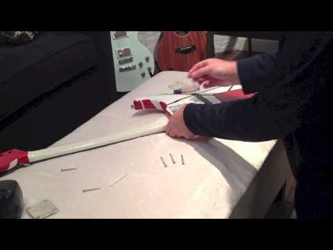 Install Custom Shop Neck Plate for Fender Guitar