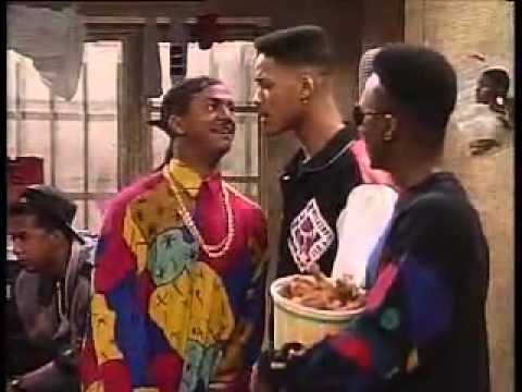 Fresh Prince of Bel-Air   Carlton playing gangster in Compton.flv