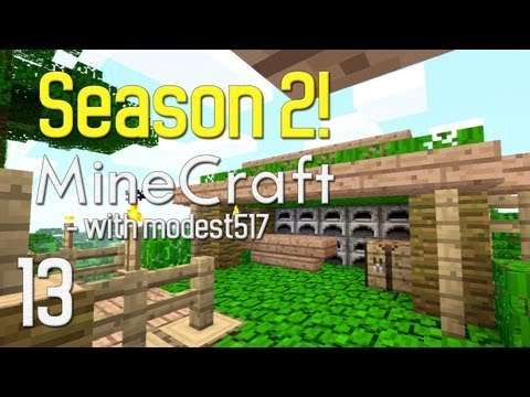 Minecraft With Modest517! - S2 EP13 - Blacksmith!