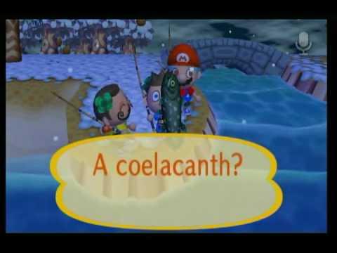 Animal Crossing City Folk - Coelacanth Fishing