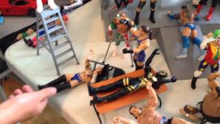 WWE Cool Set Up with action figures