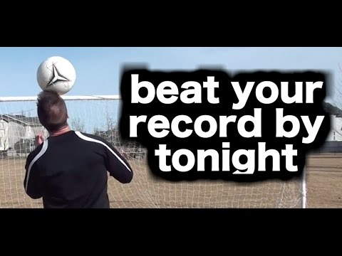 How To Juggle A Soccer Ball With Your Head ► 3 Easy Steps