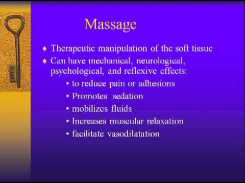Alternative (non-pharmacological) Approaches to Pain