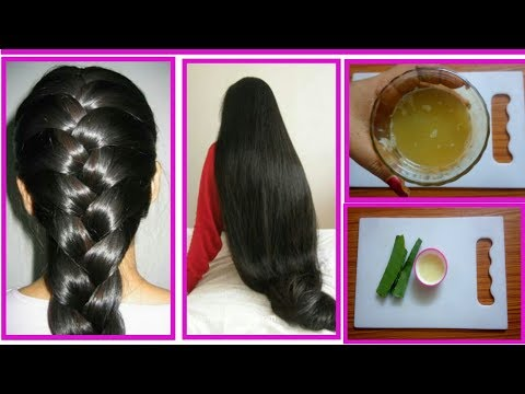 Grow long hair : How to Grow Long and thicken hair naturally Very Fast results