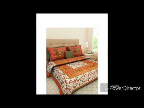Fecom  Pure Cotton bedsheets Shree manglam international Amazon