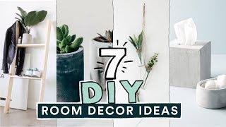 Download 7 DIY EASY ROOM DECOR IDEAS! (Pinterest Inspired) // Lone Fox Video