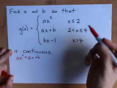 Find k so that the Piecewise Function is Continuous
