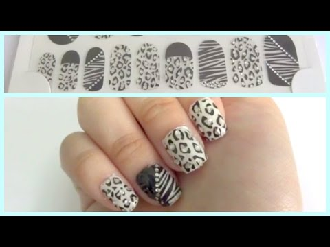 How I paste/apply nail art stickers! (explained step by step for beginners)