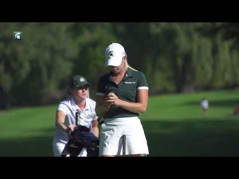 Spartan Women's Golf - Sarah Burnham
