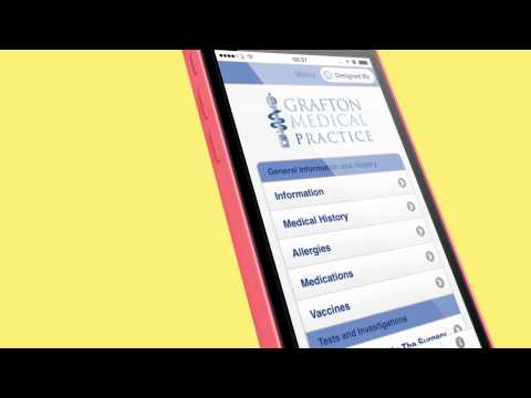 Grafton Medical History App