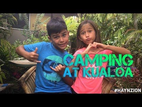 Podagee or Portuguese? Kualoa Camping