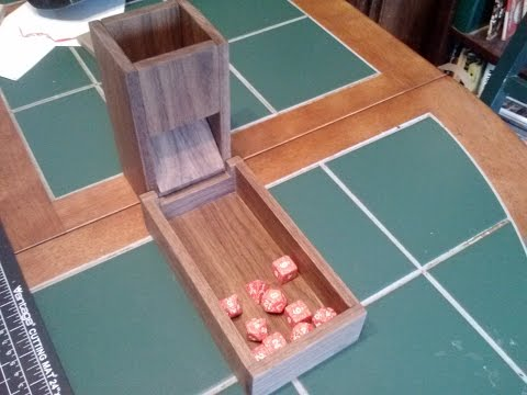 Making a Dice Tower 2:  Magnetic Boogaloo!