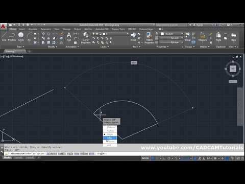 AutoCAD How to Measure Distance, Angle, Area, Circumference, Volume | AutoCAD Measure Tool Tutorial