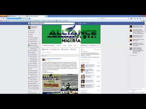Step 1 Creating Facebook Groups URL List