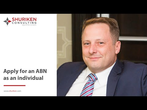 ABN Series: How To Apply For An ABI As An Individual?
