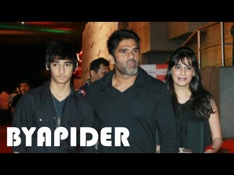 Sunil Shetty Family Photos || Father, Mother, Sister, Wife, Son & Daughter!!!