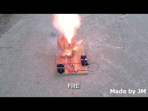 Homemade Fireworks Timer