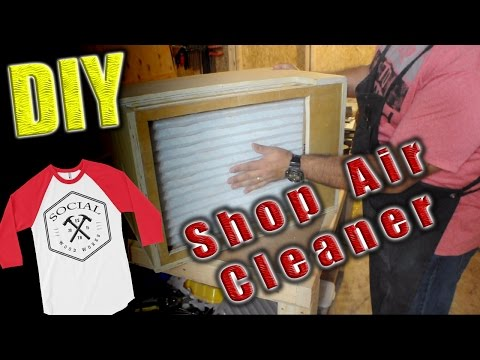 DIY Shop Air Cleaner - Free Plans