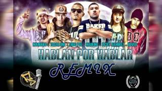 Frases Sueltas Ft Thug Pol, Toser One, Maniako // Hablan por hablar (Remix) // FS Producciones