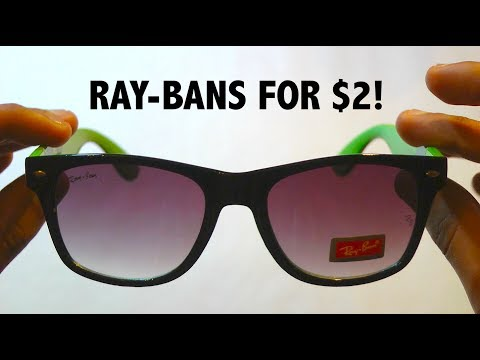 The Best Ray-Ban Sunglasses for $2!