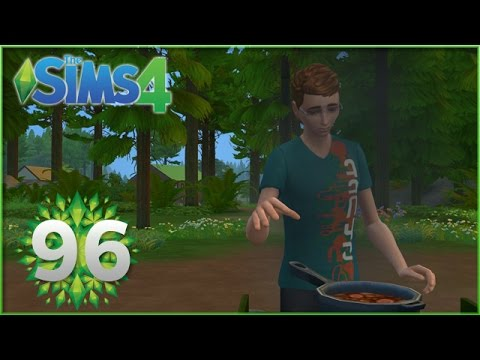 Sims 4: Ash Discovers Fire  - Episode #96