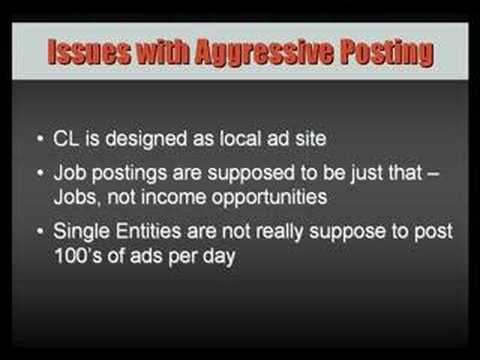 Craigslist Dominator | CL-Dominator - Generate Tons of Leads for Free