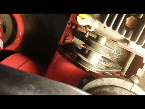 Snow Blower Belt Adjustment (Part 1 - Main)