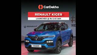 Renault Kiger Launched @ Rs5.45 Lakh   Quick Look