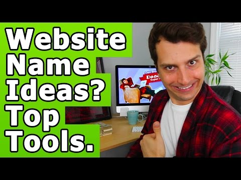 3 Free Tools: Come Up With Business/Website Name Ideas