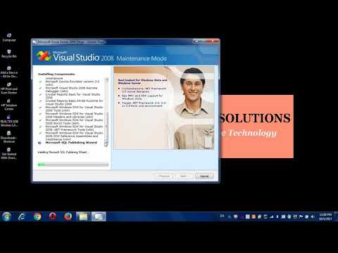 How to install Visual studio 2008 software? (for Visualbasic.net) part-3