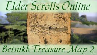 Bangkorai Treasure Map 2 [Elder Scrolls Online ESO] - Getpla on