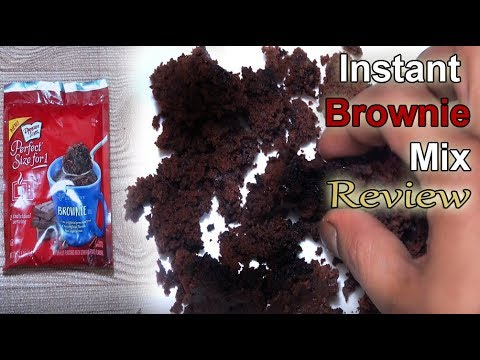 Instant Brownie Mix - First Time Try - Review